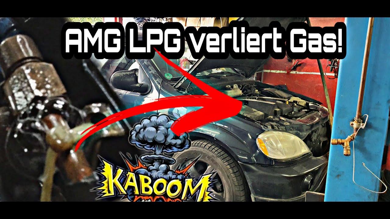 AMG LPG verliert Gas | Zum Glück bin ich nicht in die Luft geflogen ! Fehlerspeicher auslesen