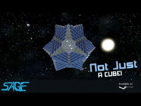 Space Engineers, Solar 'Cuboid' Ship