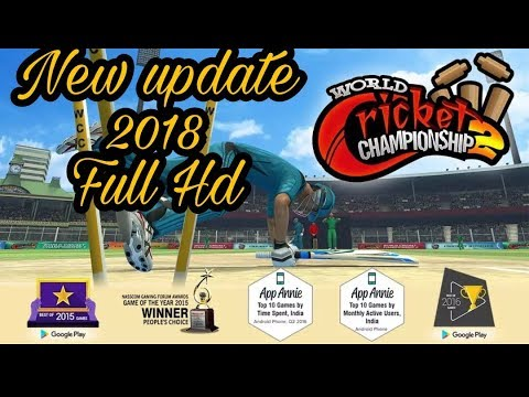 World cricket championship 2 wcc 2 new update rolling with new eciting features