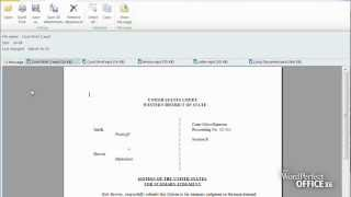 WordPerfect® Office and Windows® File Previewing