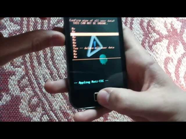 Comment formater son telephone samsung (ici galaxy ace) Travel Video