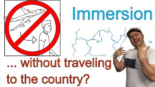 Language Immersion: Do you need to travel abroad to get immersed in languages?