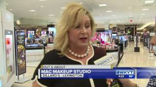 Out & About MAC Makeup Studio in Dillard's June 29, 2017 pt 1