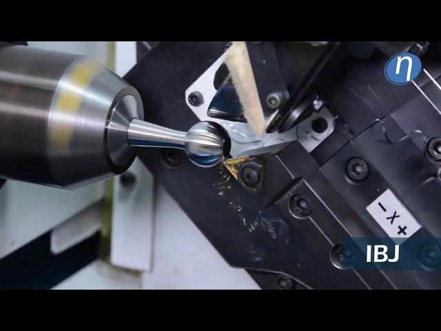 Kugeldreh- und Poliermaschine für IBJ & OBJ