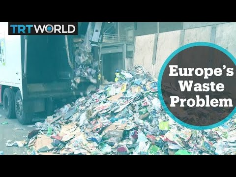 Many European countries send waste to Portuguese landfills