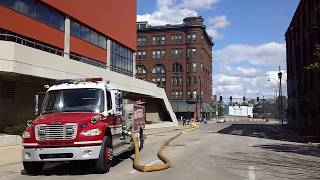 Rockford, IL - Hanley Furniture Co - Building Fire (June 26, 2017) The Day After