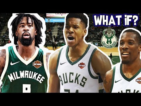 WHAT IF THE MILWAUKEE BUCKS TRADE FOR DEANDRE JORDAN?