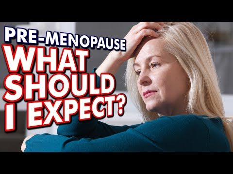 PRE-MENOPAUSE // Women: Here's What To Expect During 'The Change' (Prelude)