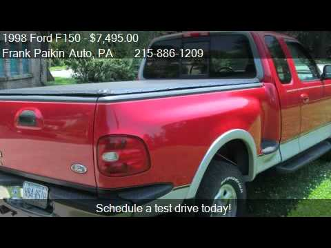 1998 Ford F150 Lariat Supercab Flareside 4wd For Sale In