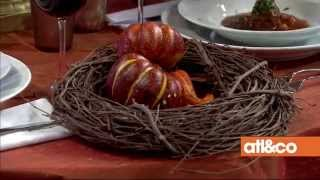 Good bye, summer hello, autumn! : Fall tablescapes, floral design, and food.