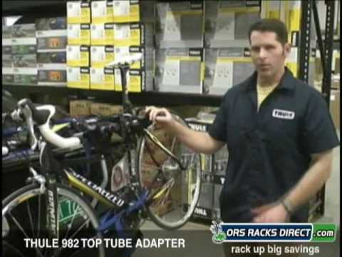 Trunk Mount Bike Rack >> Thule 982 Adapter for Trunk & Hitch Bike Racks Video Demo - YouTube