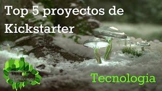 Top 5 proyectos de kickstarter