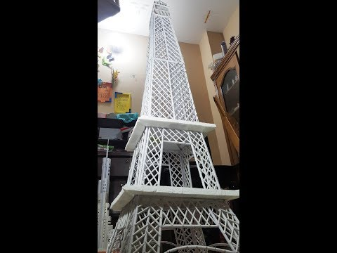 How to Make Paper Eiffel Tower | Easy Way to Make Origami Eiffel Tower | 5 Minutes Crafts & Toys