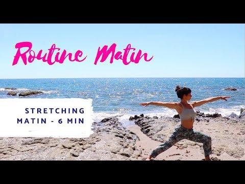 Routine du matin - Stretching doux en 6 minutes