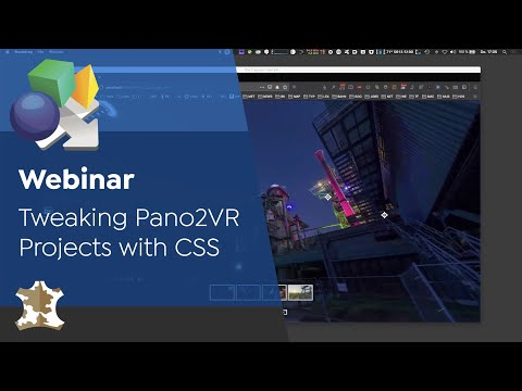 Webinar: Tweaking Pano2VR Projects With CSS