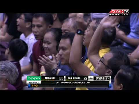 PBA Governors' Cup 2017 Highlights: Meralco Bolts vs San Miguel Beermen Sept. 24, 2017