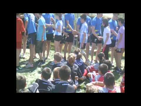 Petroc in Romania with the Tag Rugby Trust