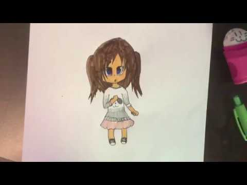 Dessin fille manga kawaii youtube - Dessin manga kawaii ...