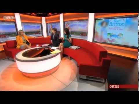 Fern Britton 0n BBC Breakfast