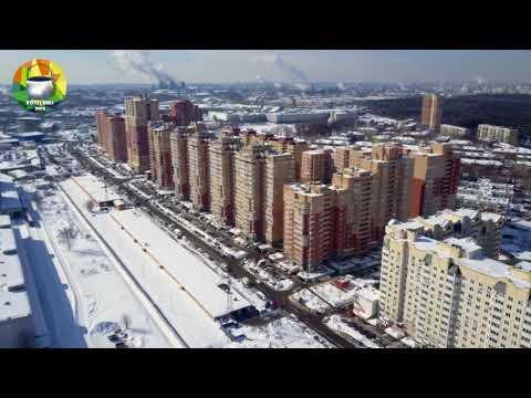 Котельники. Аэропрогулка по микрорайону Белая Дача