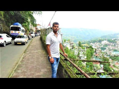 Wonderful City of Aizawl, Mizoram, India.