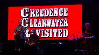 Creedence Clearwater Revisited -  Down in the corner, Lookin' Out My Back Door, Viejas casino