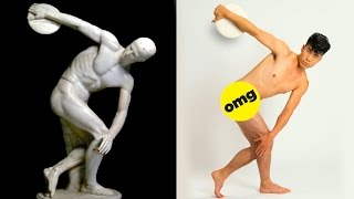 The Try Guys Try The Ancient Olympics thumbnail