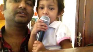 Download Hindi Video Songs - Amaro porano jaha chai by Ayesha, most junior singer ever...