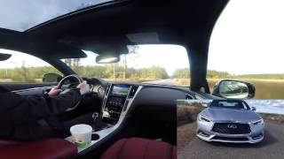 beta edit with dual view cams 2017 infinti q60s red sport 400 hd drive review