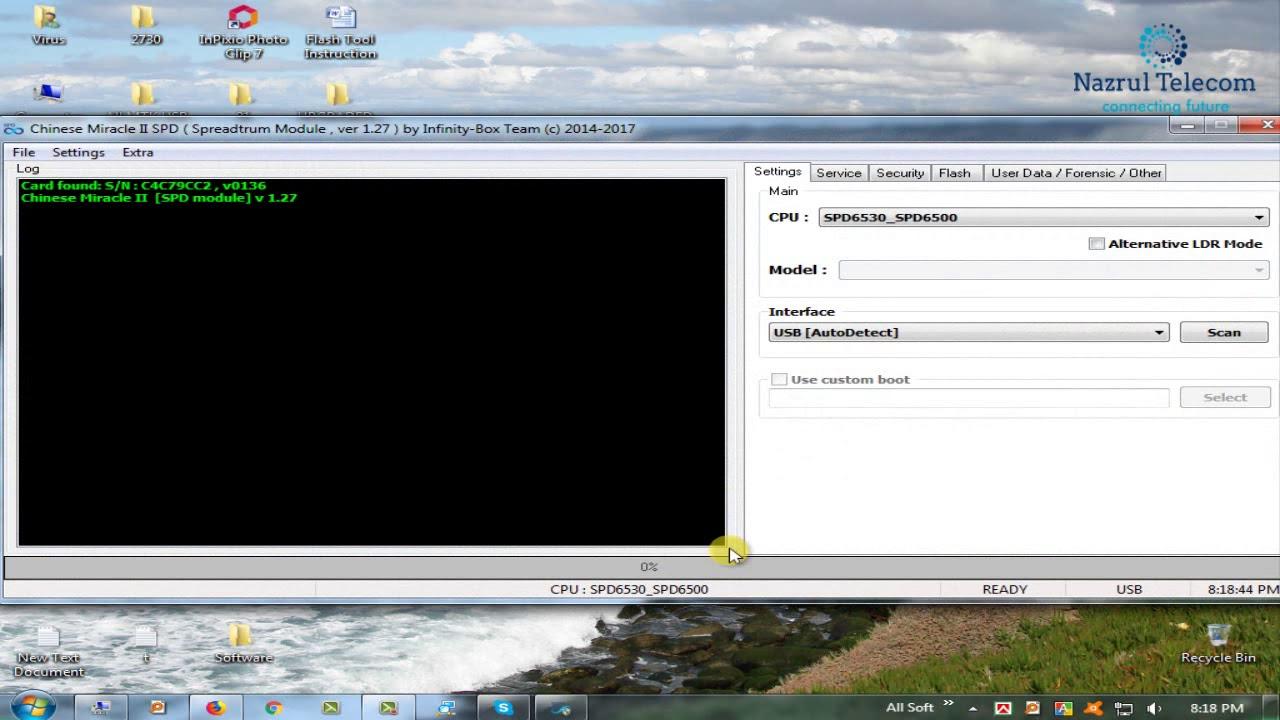 SPD CPU Baseband IMEI Unknown Repair File Read Done