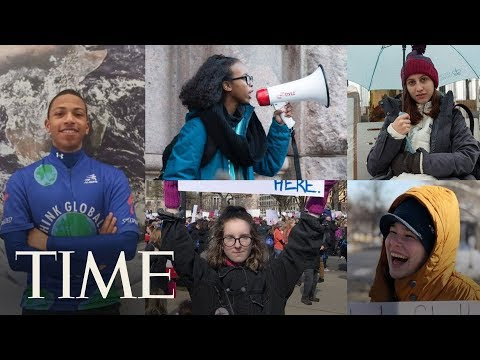 Meet The Teens Who Organized A Massive Climate Change Protest | TIME