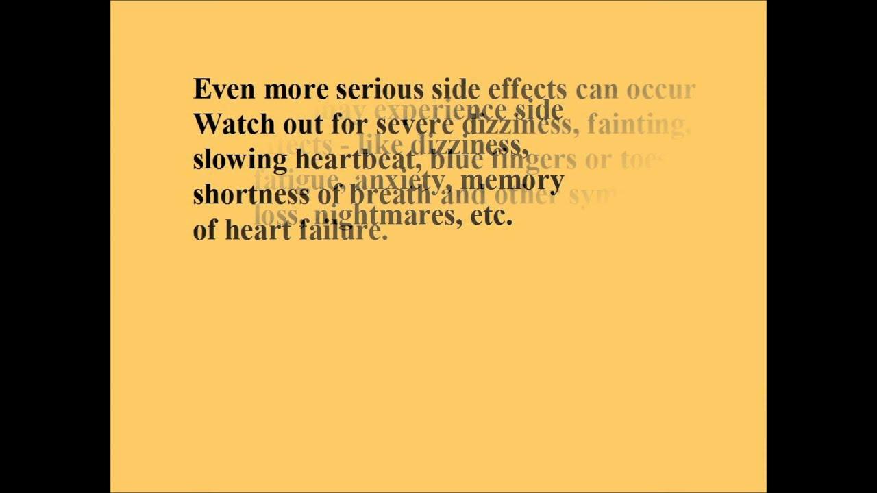 Metoprolol Tartrate, Side Effects & Alternatives - YouTube