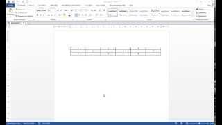 Как создается невидимая таблица в Ворде?