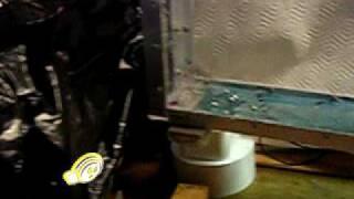 Tsunami Simulation - Single Fluid = fast moving wave