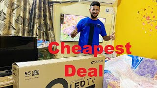 Sansui 55inch 4K Ultra HD Qled Smart TV Review Hindi TV Review