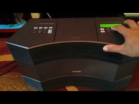 Bose ACOUSTIC WAVE music system II videos - T_2TfoWo9_Y