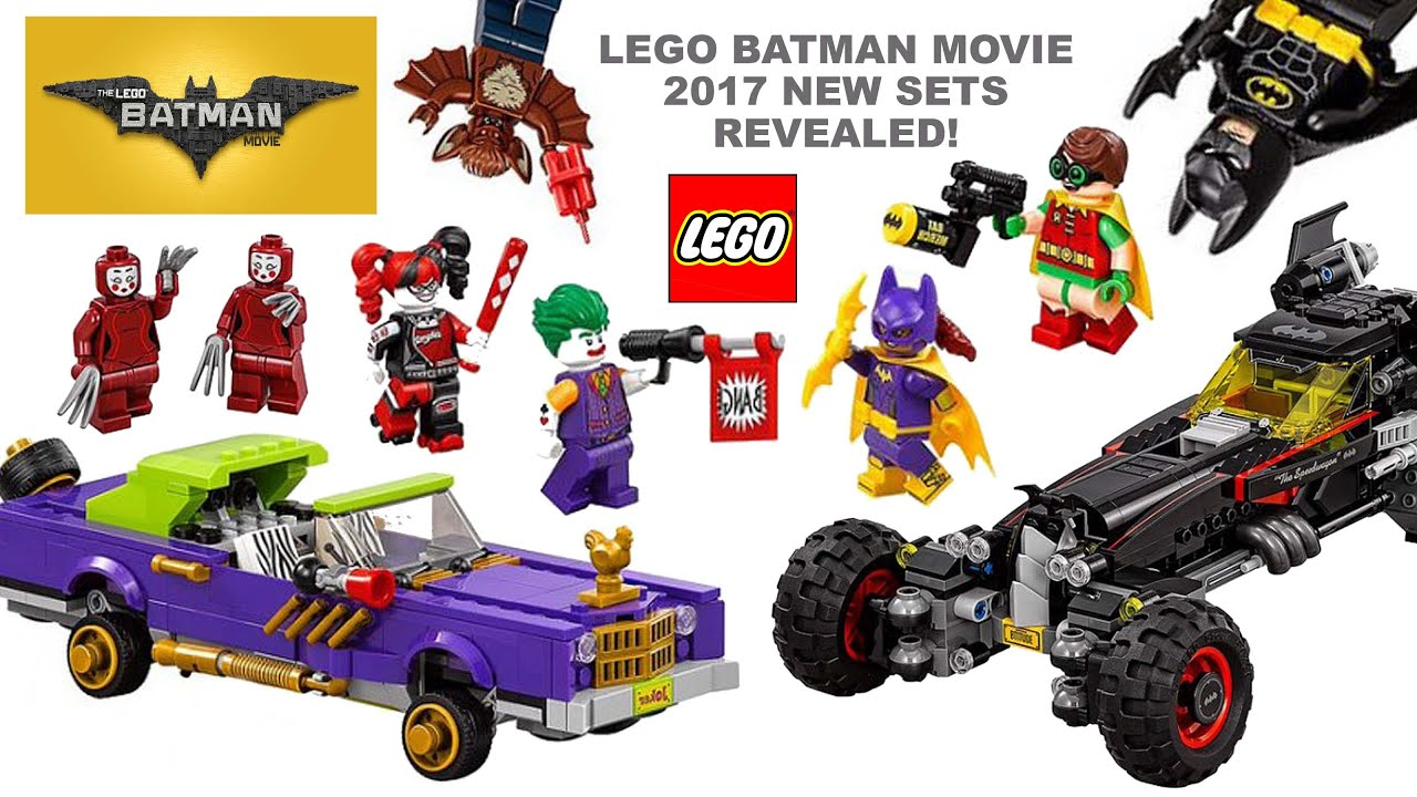 The LEGO Batman Movie 2017 All New Sets   Minifigures Revealed w     The LEGO Batman Movie 2017 All New Sets   Minifigures Revealed w  Joker  Batgirl Robin   Harley Quinn   YouTube