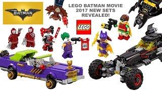 The LEGO Batman Movie 2017 All New Sets & Minifigures Revealed w/ Joker Batgirl Robin & Harley Quinn