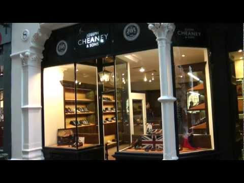 Cheaney Shoes - New Shop Opens In Bow Lane, London