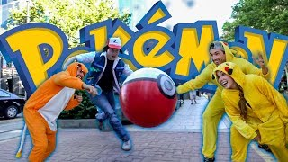 Pokémon Go Funny Prank!! - Dressed as Real #Pokemon