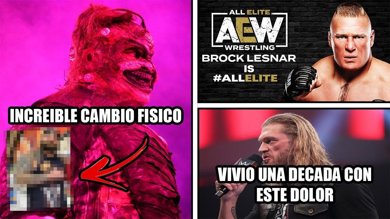 El increíble cambio físico de Bray Wyatt | ¿Lesnar firmo con AEW? | Balor visita a equipo MEXICANO