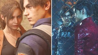 Claire Has a crush on Leon - Resident Evil 2 Remake 2019