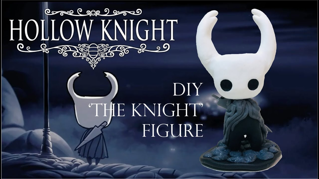 hollow knight figure was sold out so i made one