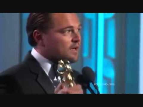Leonardo DiCaprio's Golden Globe 2016 Speech - Indigenous Human Rights and Exploitation.