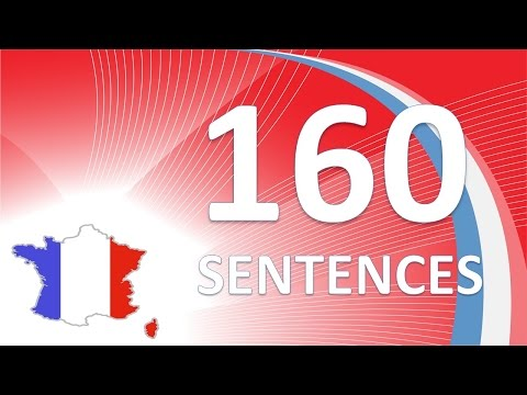 Learn French #French in Context #160 sentences