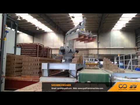 Two-Times Brick Loading With Auto Brick Setting Robot