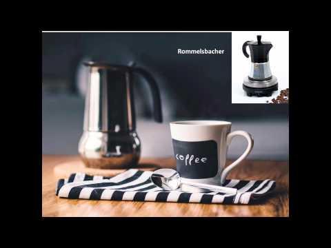 espressokocher elektrisch youtube. Black Bedroom Furniture Sets. Home Design Ideas