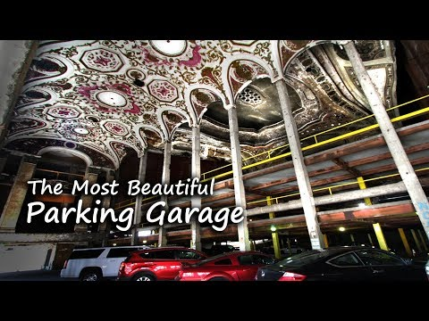 Detroit's Historic Theater Is Now A Parking Garage
