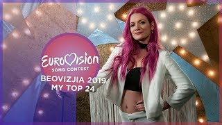 Eurovision 2019 🇷🇸 (Beovizija/Serbian National Selection) - Top 24