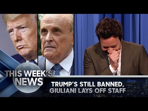 Trump's Still Banned from Facebook, Giuliani Lays Off Entourage: This Week's News | The Tonight Show
